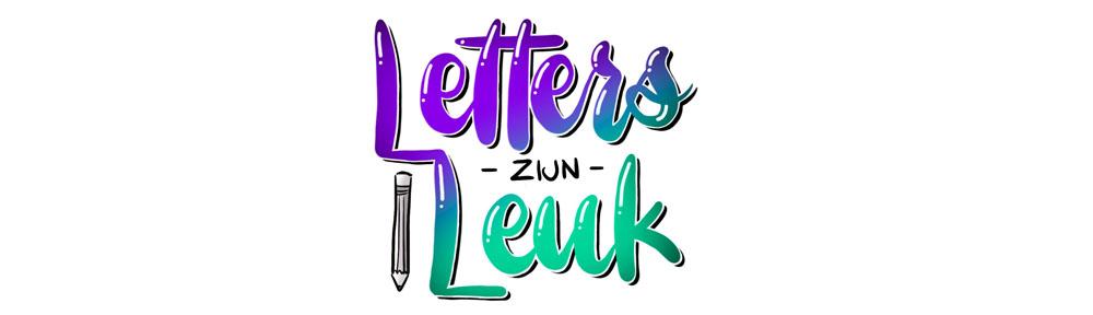 Letters zijn leuk!